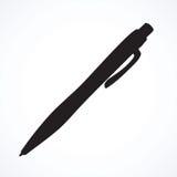 Vieux crayon lecteur Retrait de vecteur Photo stock