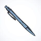 Vieux crayon lecteur Retrait de vecteur Photo libre de droits