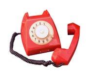 vieux cru de téléphone Image stock