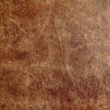 Vieux cuir Photographie stock libre de droits