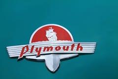 Vieux détail américain classique de voiture Photographie stock libre de droits