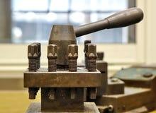 Vieux détail d'équipement industriel  Images libres de droits