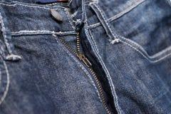 Vieux détail de couture de jeans de style gentil de vintage de blues-jean photos stock