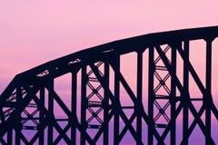Vieux détail de pont Photos libres de droits