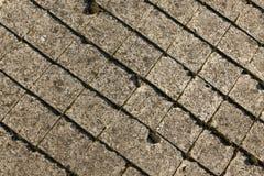 Vieux détail de toit Image libre de droits