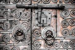 Vieux détail de trappe Image stock