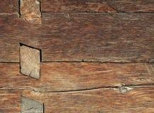 Vieux détail en bois de maison Photo libre de droits