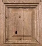 Vieux détail en bois de trappe Photos stock