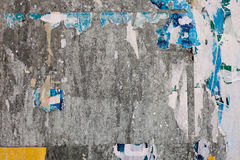 Fin urbaine de mur d'affiche vers le haut Photos libres de droits