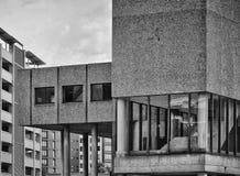 Vieux détails de bâtiment en béton Photos libres de droits