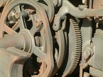 Vieux détails de machine Images stock