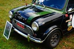 Vieux détails verts classiques d'admission de voiture Image libre de droits
