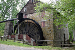 vieux de moulin du Maryland restauré Photo libre de droits