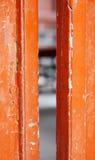 vieux de trappes peint Photo stock