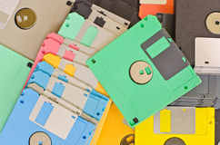 Vieux disque. photo stock