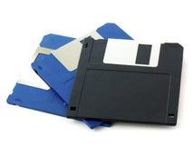 Vieux disques souples Photo libre de droits