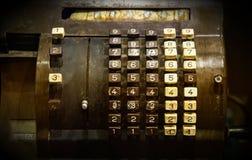 Vieux distributeur automatique de billets Photos libres de droits