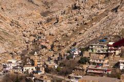 Vieux Distric du Kurdistan d'Akre Aqrah de l'Irak Photo libre de droits