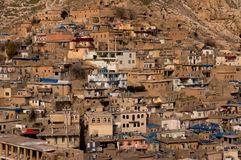 Vieux Distric du Kurdistan d'Akre Aqrah de l'Irak Images stock