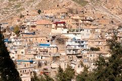 Vieux Distric du Kurdistan d'Akre Aqrah de l'Irak Image libre de droits