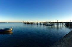 Vieux dock en Île Prince Edouard Photographie stock