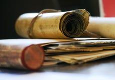 Vieux documents Photographie stock