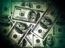 Vieux dollars américains Photographie stock