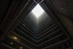 Vieux domaine d'architecture de Hong Kong Residential, Chine Image libre de droits