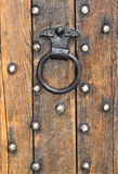 Vieux doorknocker Images libres de droits