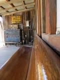 Vieux dépôt occidental d'étape Image stock