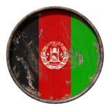 Vieux drapeau de l'Afghanistan Photos libres de droits