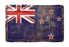 Vieux drapeau du Nouvelle-Zélande Photo libre de droits