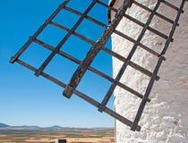 Vieux détail de moulin à vent Image libre de droits