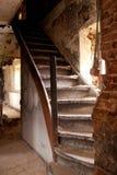 Vieux escaliers Photos libres de droits