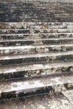 Vieux escaliers photographie stock libre de droits