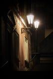Vieux escaliers de château Image stock