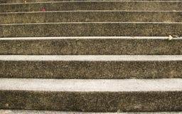 Vieux escaliers de marbre images libres de droits