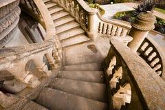 Vieux escaliers en pierre Photographie stock libre de droits