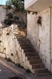 Vieux escaliers en pierre Images stock