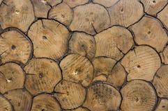 Vieux et minable plancher Texture en bois Images libres de droits