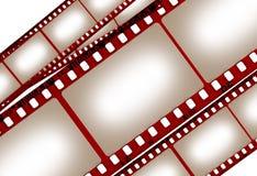 Vieux et modifié film illustration de vecteur
