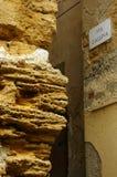 Vieux et neuf à Agrigente Photo stock