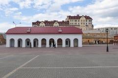 Vieux et neuf Omsk Image stock