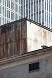 Vieux et nouveau bâtiment Images stock
