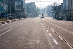 Vieux et nouveau boulevard d'Uranus photo stock