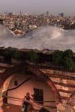 Vieux et nouveau d'Istanbul Photographie stock