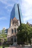 Vieux et nouveaux bâtiments Image stock