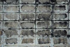 Vieux et souillé mur de briques Images libres de droits