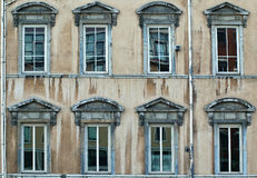 Vieux façade Photographie stock libre de droits