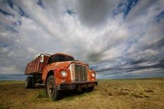 Vieux Farmtruck Photos libres de droits